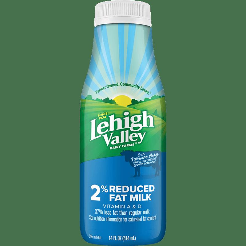 2% Reduced-Fat Milk Plastic 14 oz.