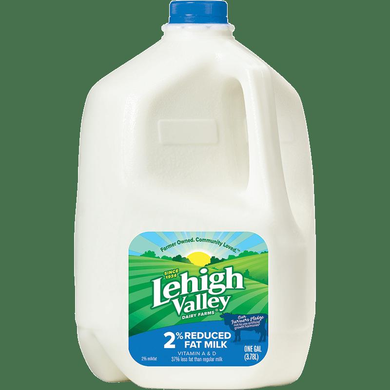 2% Reduced-Fat Milk Plastic Gallon