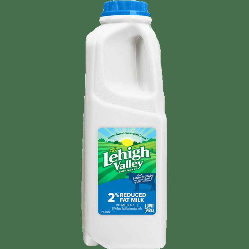 2% Reduced-Fat Milk Plastic Quart