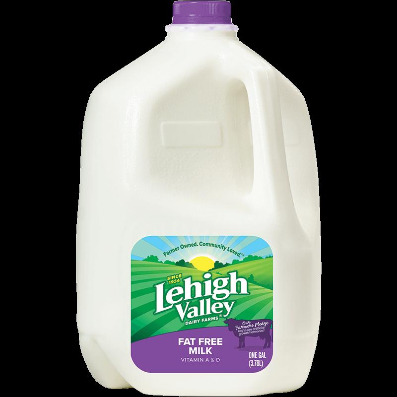 Fat-Free Milk Plastic Gallon