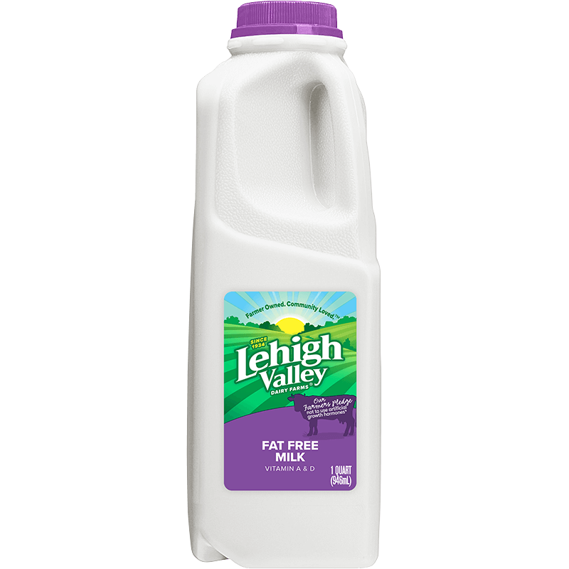 Fat-Free Milk Plastic Quart