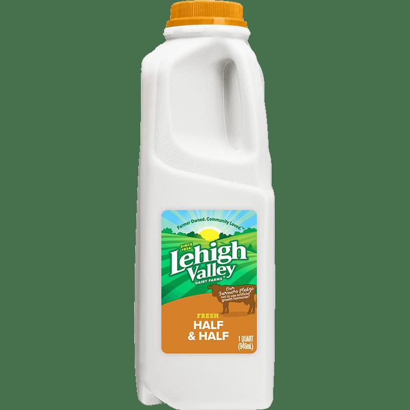 Half & Half Plastic Quart