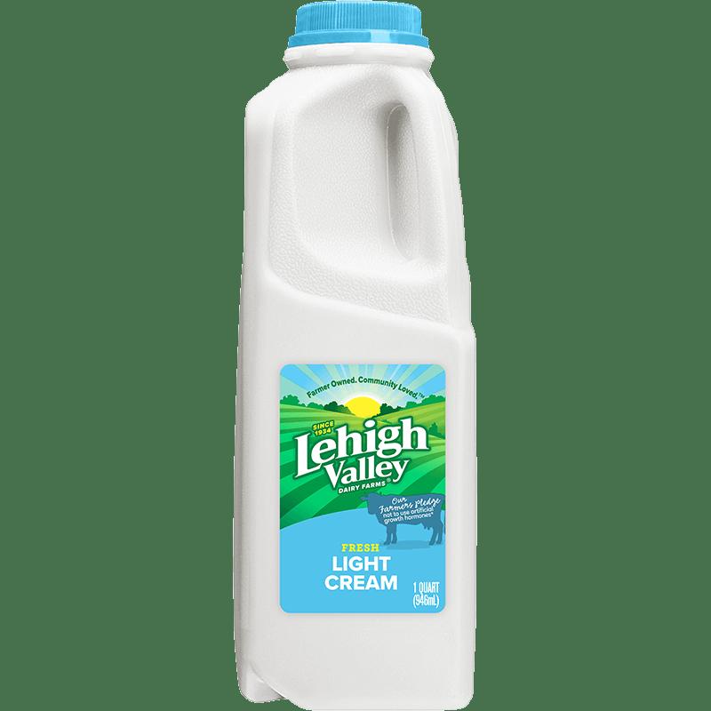 Light Cream Plastic Quart