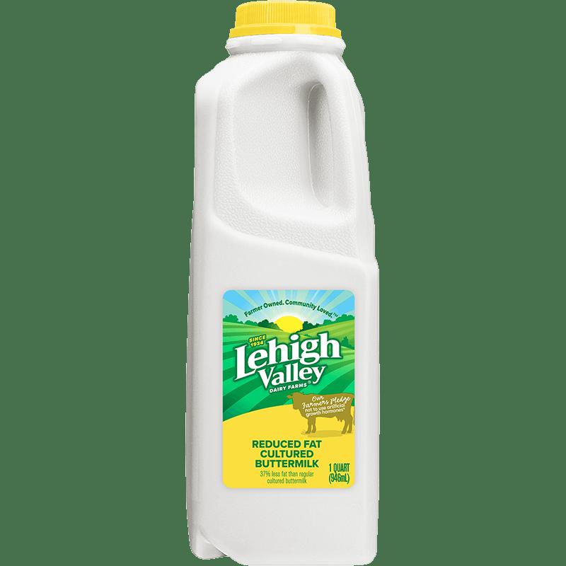 Reduced-Fat Cultured Buttermilk Plastic Quart