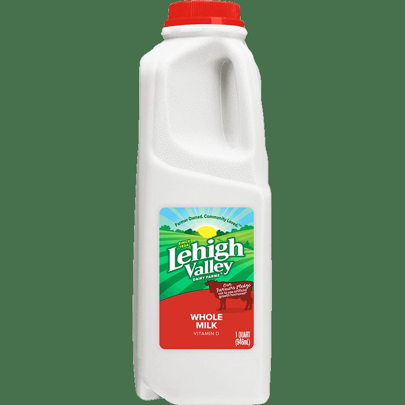 Whole Milk Plastic Quart